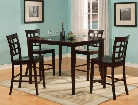 espresso counter high dining table