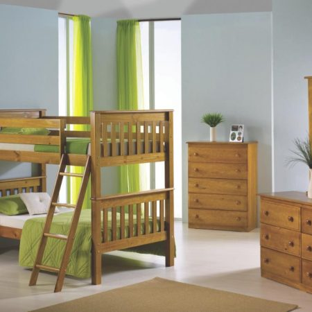 solid wood bunk bed Houston