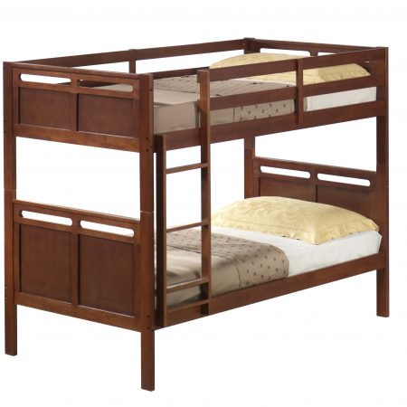 hardwood convertible bunk bed houston