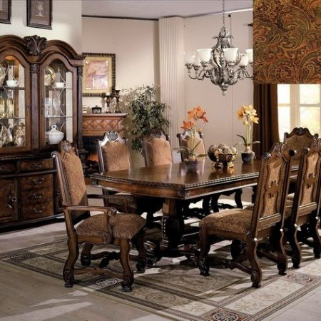 neo-renaissance 7pc dining set