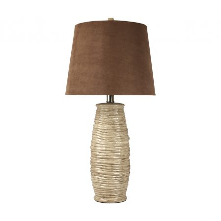 Ashley Haldis contemporary table lamps in Houston