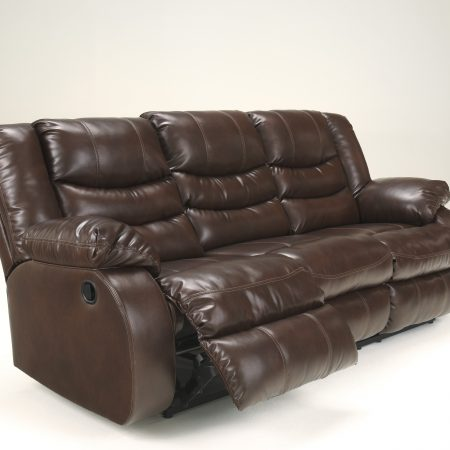 Ashley Linebacker Espresso sofa