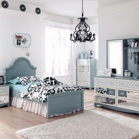 Ashley Mivara twin bedroom set