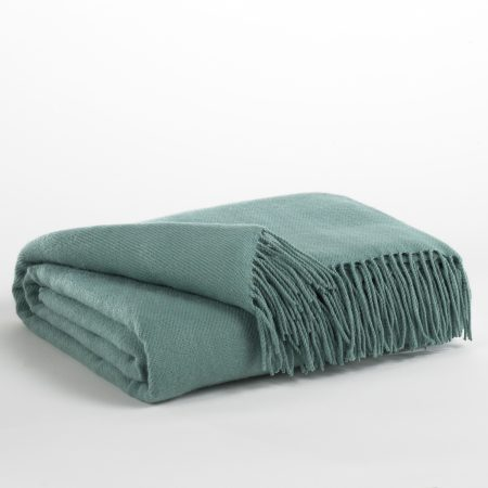 Ashley Ashton Aqua throw Houston