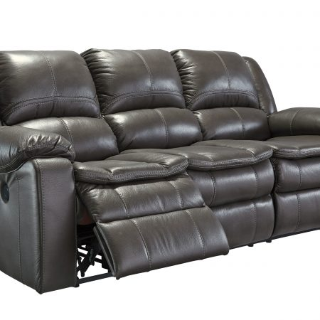 Ashley Long Knight Gray Reclining Sofa in Houston