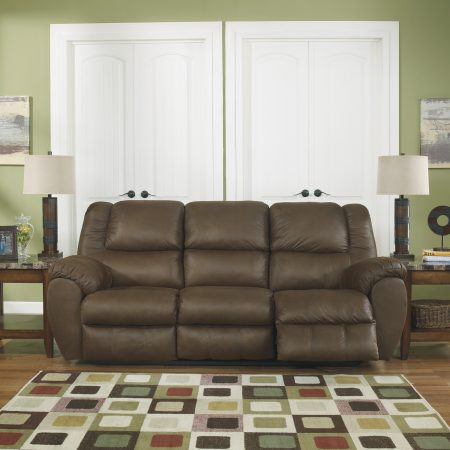Ashley Quarterback Canyon Reclining Sofa in Houston