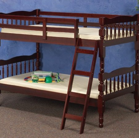 Donco solid wood Merlot bunk bed in Houston