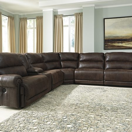Ashley Luttrell Sectional In Houston