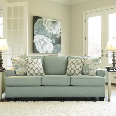 Ashley Daystar Seafoam Sofa And Loveseat In Houston