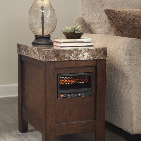Ashley Kraleene Chair Side End Table With Heater In Houston