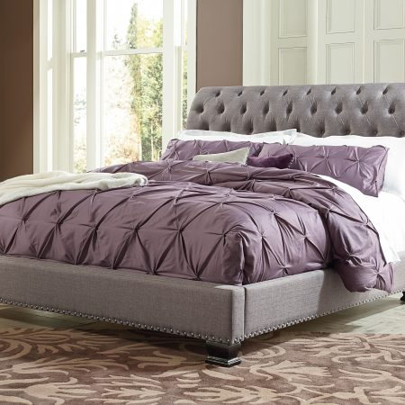 Standard Furniture Garrison Queen Upholstered Bed In Houston