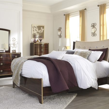 Ashley Lenmara Queen Bedroom Set In Houston