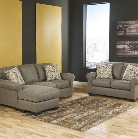 Ashley Danely Dusk Sectional AND Love In Houston