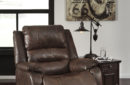 Ashley Barling Walnut Power Recliner In Houston