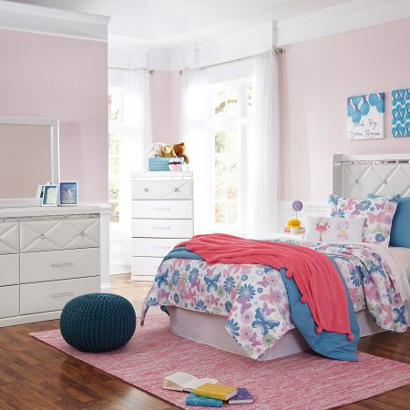 ASHLEY DREAMUR Twin Size Bedroom Set