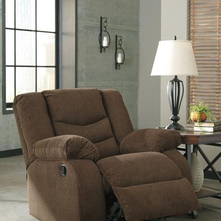 Ashley Tulen Chocolate Recliner In Houston