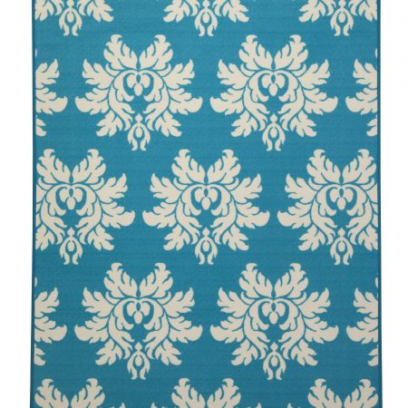 Ashley Lia Turquoise Area Rug In Houston