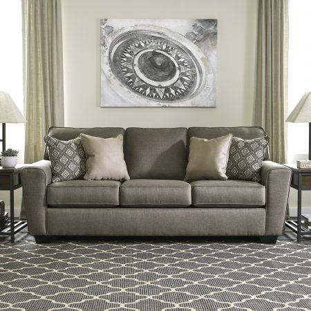 Ashley Calicho Cashmere Sofa In Houston