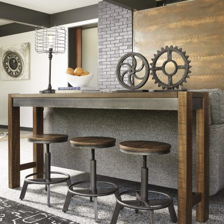 Ashley Torjin Long Counter Table With 3 Stools In Houston
