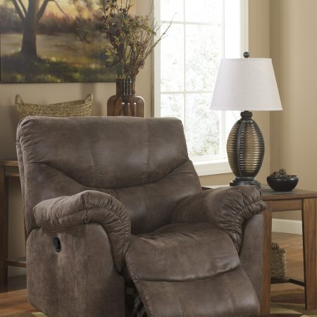 Ashley Alzena Gunsmoke Recliner In Houston