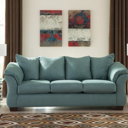 Ashley Darcy Sky Sofa In Houston