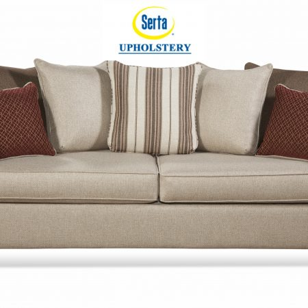 Serta Upholster By Huges Reflex Sand Sleeper Sofa In Houston