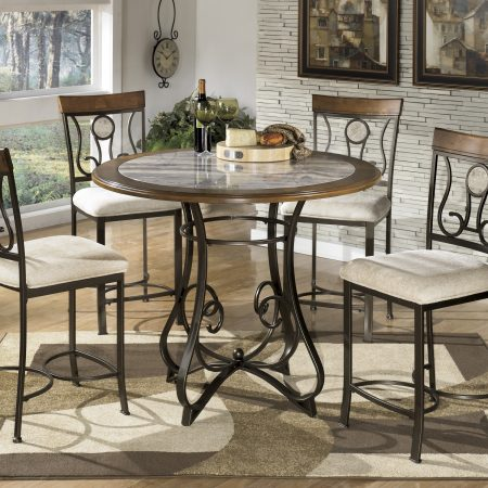 Ashley Hopstand Counter High Dining Set In Houston