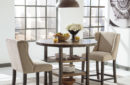 Ashley Moriann Counter High Dining Set In Houston