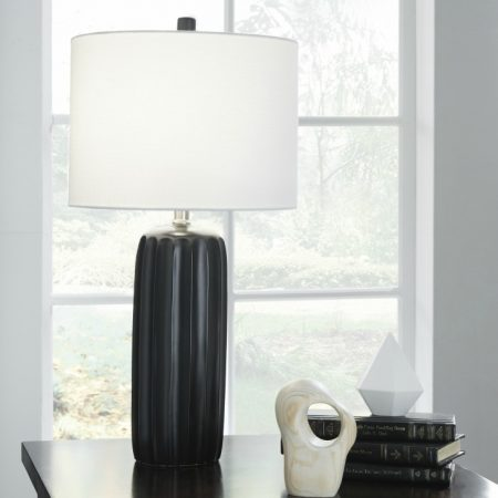 Ashley Adorlee Black Table Lamps In Houston Set Of 2
